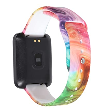 Amazon.com: Klaas NIC - Correa de reloj de silicona para ...