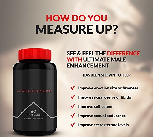 #1 Best IDEAL Testosterone Booster and Male Enhancement Supplement | Builds Muscle Quick | 100% All Natural Testosterone Pills | Muscle Growth, Performance, and Testosterone Levels all boosted (Pill Male Performance Enhancement)