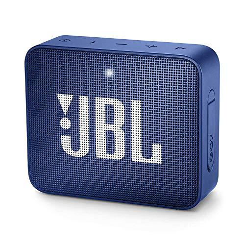 JBL GO 2 – Altavoz inalámbrico portátil con Bluetooth, resistente al agua (IPX7), hasta 5 h de reproducción con sonido…