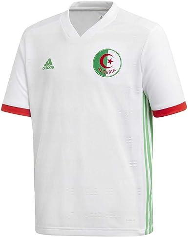 adidas Federación Algeria Camiseta de Equipación Niños: Amazon.es: Ropa y accesorios