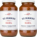 #4: Gourmet Natural Tomato Basil Pasta Sauce - (2) 25 oz Jars - Gluten Free, No Sugar Added, Vegan, Preservative Free, Paleo and Keto Friendly, and made with Whole, non-GMO Tomatoes!