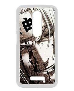 Cheap Abstract Moto X 3rd Case,Jiraiya Linnyito Smile Art Man Look White New Custom Design Motorola Moto X 3rd Generation Cover Case