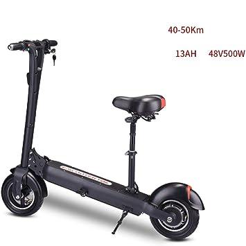 Lfnhai Scooter eléctrico para Adultos, Scooter Urbano ...