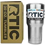 RTIC 30 oz Stainless Steel Tumbler Cup w/ Splash Proof...