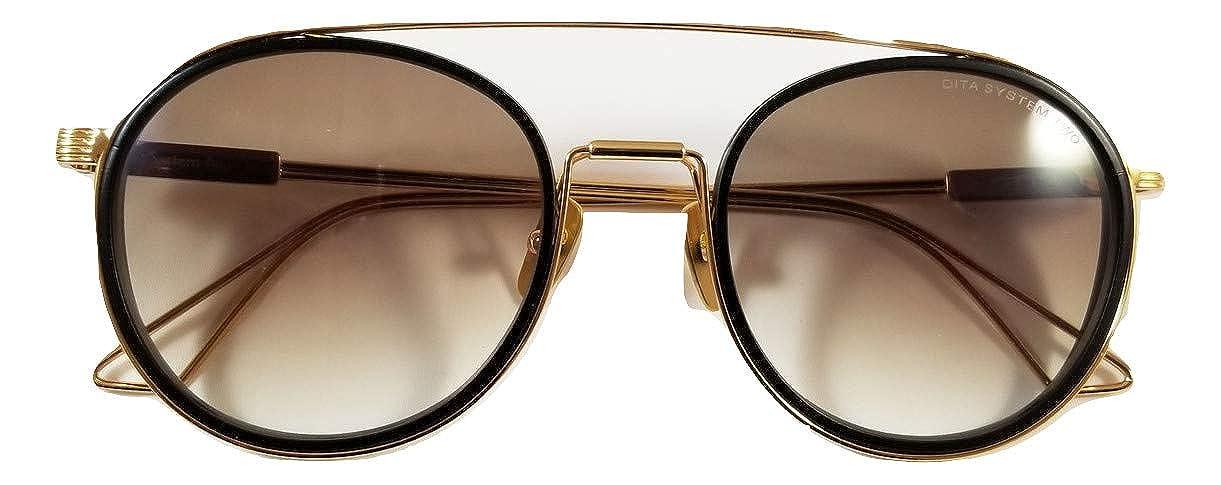 Dita System Two DTS 115 02 Gafas de sol Montura dorada con ...