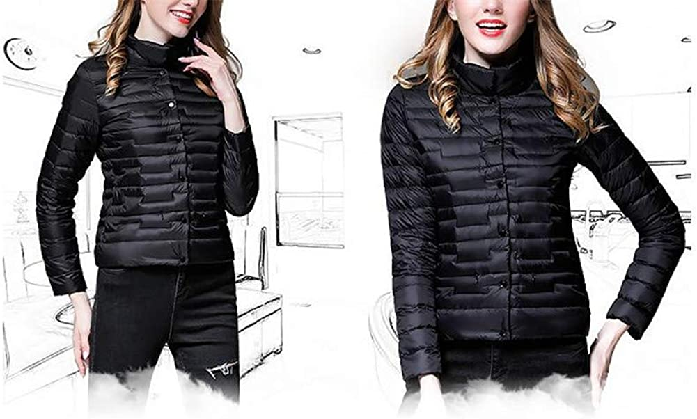 Dotoo Autumn Winter Women Casual 90/% White Duck Down Ultra Light Warm Down Jacket