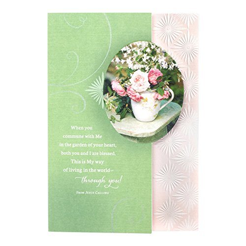 Thank You - Jesus Calling by Sarah Young - Inspirational Boxed Cards - Flowers (Card Calling Flower)