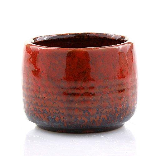 Red Bamboo Pot - 2