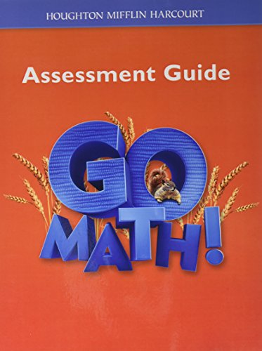 Go Math!: Assessment Guide Grade 2