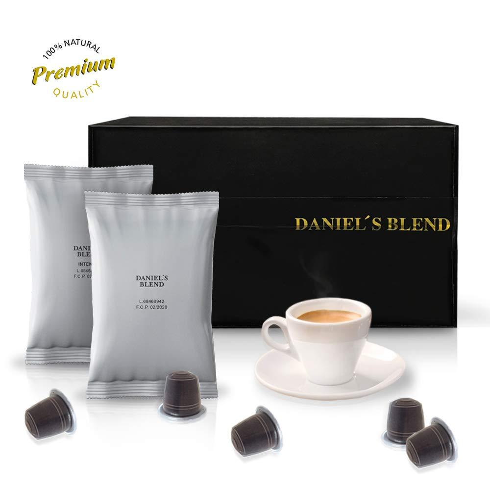 DANIELS BLEND - Economy Pack 100 Cápsulas de Café económico Compatibles con Máquinas Nespresso - INTENSO: Amazon.es: Alimentación y bebidas