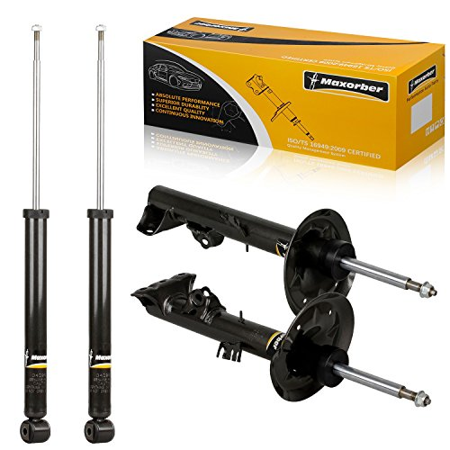 (Maxorber Full Set Shocks Struts Absorber Kit Compatible with BMW 323is 1998-1999 Replacement for BMW 328i 328is 1996-1999 Replacement for BMW 318is 318i 1993-1998 Shock)