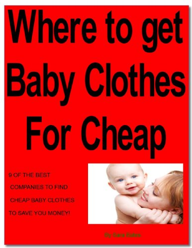 Where to get baby clothes for cheap