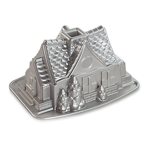 Nordic Ware Gingerbread House Bundt Pan (Gingerbread Mold)