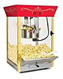 Nostalgia CCP610TOP Commercial 8-Ounce Tabletop Popcorn Popper