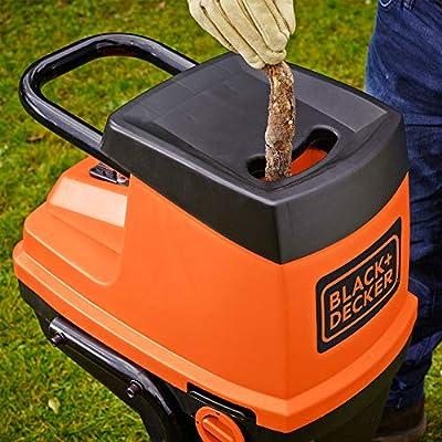 BLACK+DECKER GS2400-QS - Biotrituradora eléctrica, 2400 W, 230 V ...