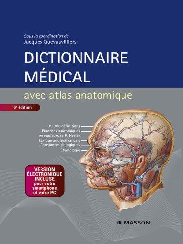 Dictionnaire médical (French Edition)