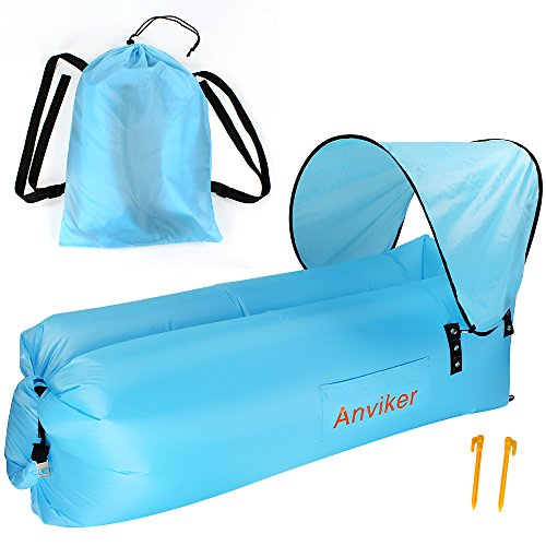Inflatable Lounger,Anviker Waterproof Po - Festival Canopy Shopping Results