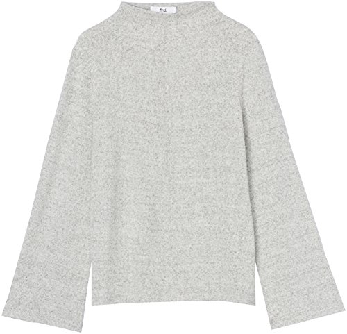 Montant Col Femme FIND Pull Gris Grey Marl PqC8Sn