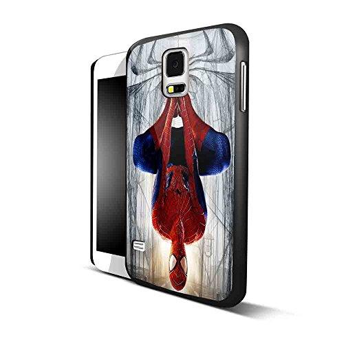 amazing spiderman logo for Samsung S5 Black case