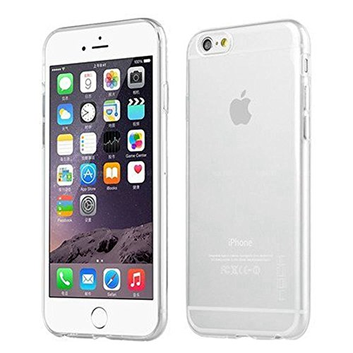 iPhone 6 Case, iPhone 6 (4.7 inch) NO5CASE Ultra Slim Crystal Clear Soft Gel Case Shock Absorbing Flexible Transparent Cover (Clear Silicone Skin Case)
