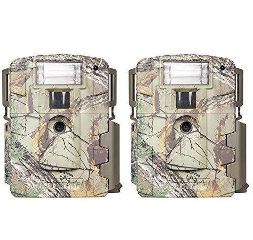 Moultrie D-80 Mini 14MP White Flash Xenon Strobe Digital Game Camera (2 Pack)