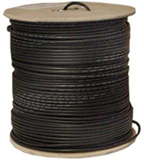 C&E 1000 feet 18AWG Direct Burial CCS RG6 60% Outdoor Coaxial Cable