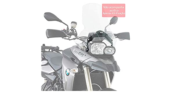 D333KIT GivMotorcycle Screen FittinKit F650GS//F800GS 08-09