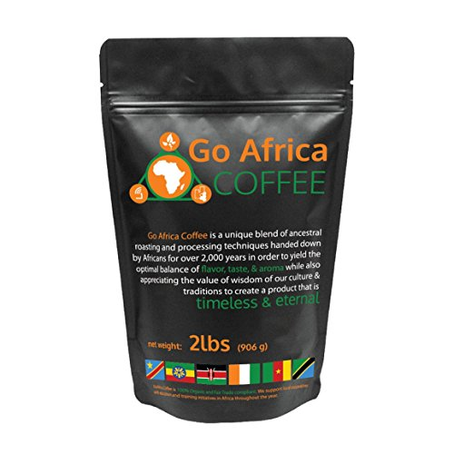 Go Africa Coffee 2Ib Bag (Whole Bean) Dark Roast