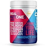 Real Ketones Prime D+ BHB (Beta-Hydroxybuterate) and MCT Exogenous Ketone Powder Supports Ketogenic Diet, Energy Boost, Mental Clarity (28 Serving, Lemon Twist)