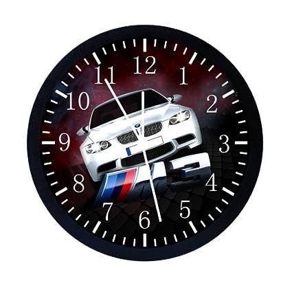 Grandes extra-tamaño grande 35,56 cm BMW M3 reloj de pared Decor W05