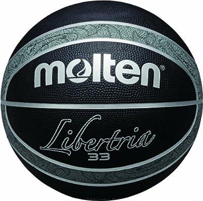 MOLTEN B7T2000-KH - Balón de baloncesto, color negro y plateado ...