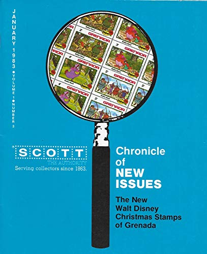 Scott Chronicle of New Issues, January 1983, The New Walt Disney Christmas Stamps of Grenada