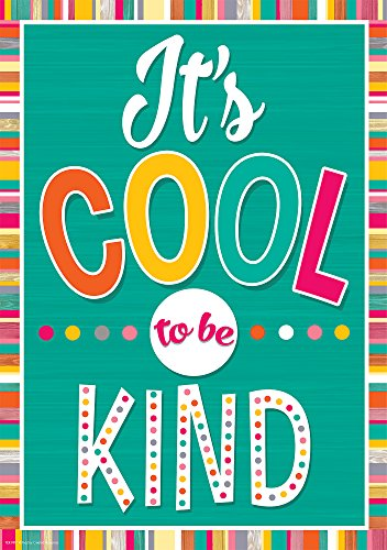 It's Cool to Be Kind Positive Poster