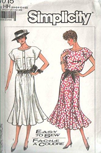 8 gored dress pattern - 9