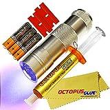 molybdenum wire - Octopus Glue - Liquid Optically Clear Adhesive (LOCA) - The ORIGINAL PREMIUM LOCA UV Glue (3 ml w/ UV LED Flashlight)