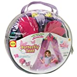 Alex Toys Pretend and Play Butterfly Tent