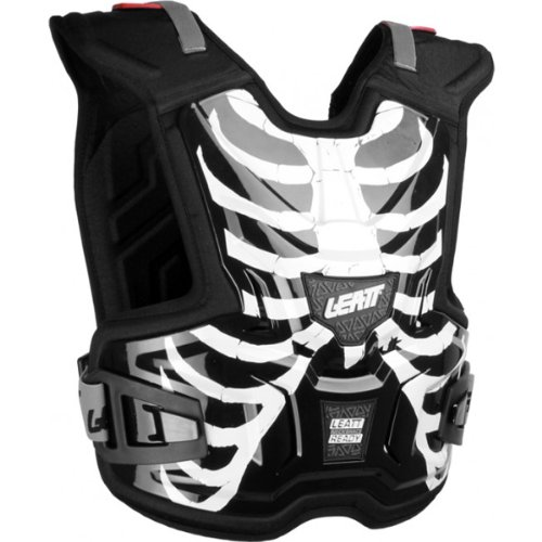 - Leatt Adventure Lite Vest Youth Roost Deflector MX/Off-Road/Dirt Bike Motorcycle Body Armor - Cage/Large/X-Large