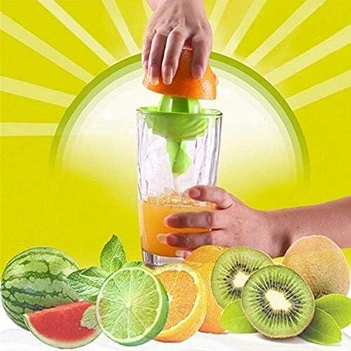 Rainandsnow 1 Unid Herramienta de Mano portátil exprimidor de limón Naranja exprimidor de cítricos exprimidor exprimidor