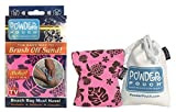 Powder Pouch Sand Remover - Pink Aloha! Edition