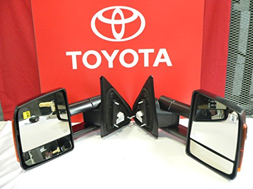 (2007 + Toyota Tundra Power Fold Towing Mirror Set)
