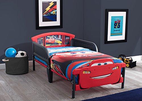 Delta Children 3D-Footboard Toddler Bed, Disney/Pixar Cars 3 2