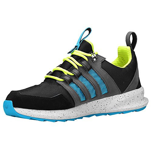 outlet clearance 100% guaranteed cheap online adidas Originals Men's SL Loop Runner Fashion Sneaker Black/Solar Blue/Solid Grey cheap sale low price 9hY6U3X