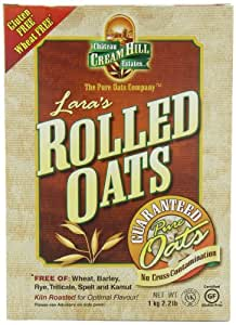 Cream Hill Estates Lara's Rolled Oats, 2.2 Pound Box (Pack of 4)