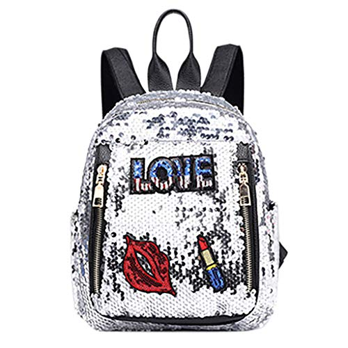May Huge Sale!DDKK bags New Fashion Girl Sequins School Bag-Backpack for Birthday Gifts-Travel Rucksack Shoulder Shiny Backpack-Leather Cross Body Bag-Daypack Satchel on Clearance!