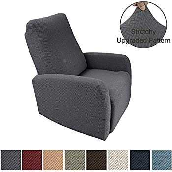 Fabulous Amazon Com Easy Going Recliner Stretch Sofa Slipcover Sofa Caraccident5 Cool Chair Designs And Ideas Caraccident5Info