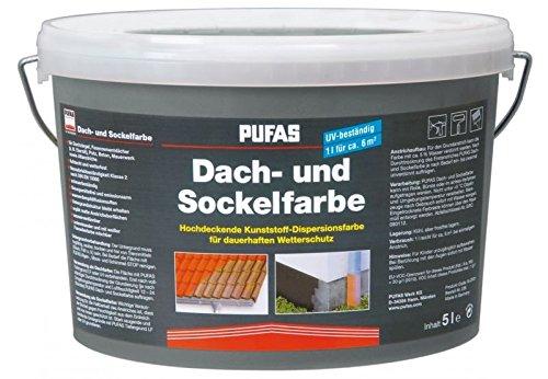 Dach- und Sockelfarbe 2,5 L, 950 Schiefer