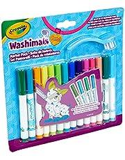 Washimals vervangende viltstiften