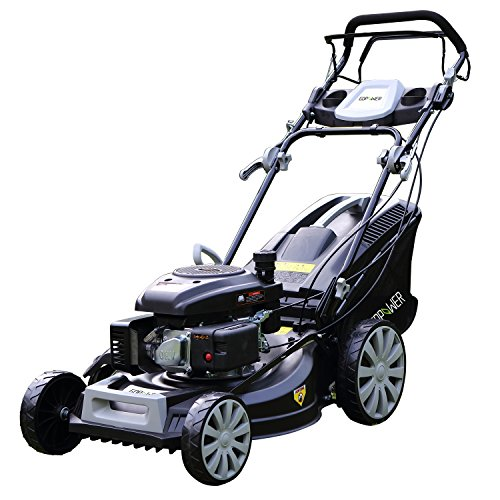 Suny Deals Gas Push Lawn Mower 3 In 1 Discharge Self Propelled Lawn Mower 161Cc  Black  20Inch
