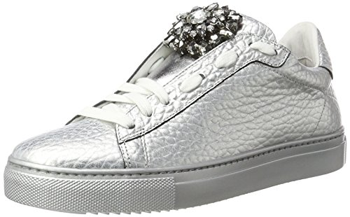 Argento Sneaker Mujer para Stokton Plateado Zapatillas 86dqwTxxX