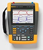Fluke 190-202/AM/S 2 Channel LCD Color ScopeMeter Oscilloscope with SCC290 Kit, 200 MHz Bandwidth, 1.7ns Rise time
